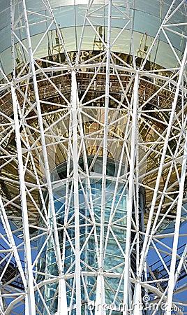 Astana Baiterek tower fragment