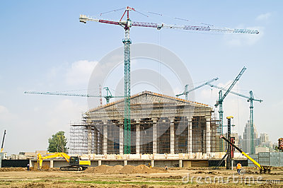 Astana is built