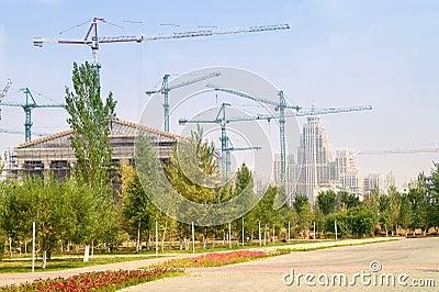 Astana is built