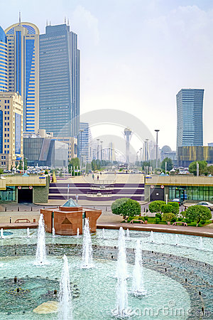 Astana, cityscape Editorial Stock Photo