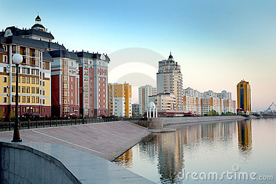 Astana, saved the rivers Ishim
