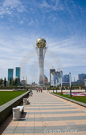 ASTANA. SYMBOL OF KAZAKHSTAN - BAYTEREK