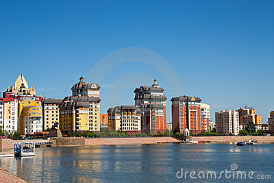 Astana waterfront