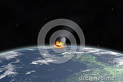 Asteroid on Yucatan