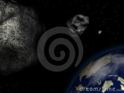Asteroids and earth