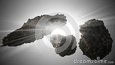Asteroids Star Background