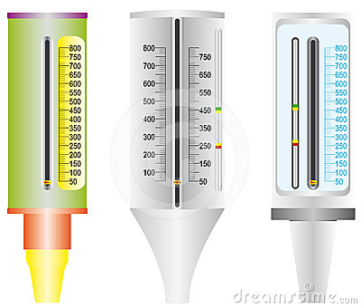 Asthma. Peak flow meter.