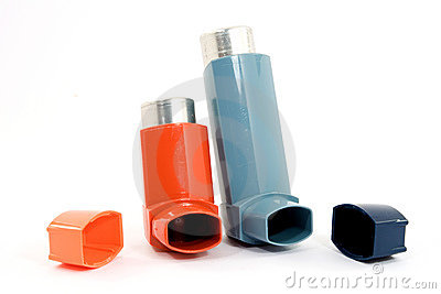 Asthma spray