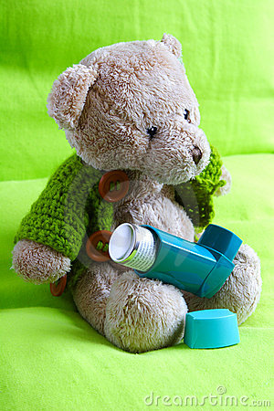 A asthmatic bear