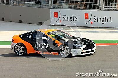 Aston Martin Asia Cup 2008 in Singapore Grand Prix Editorial Photo