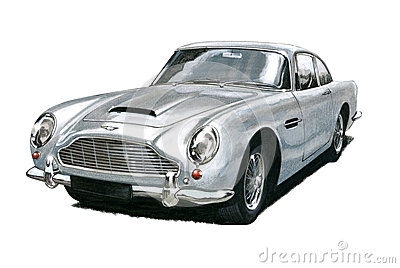 Aston Martin DB5 Editorial Stock Photo