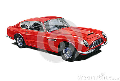 Aston Martin DB6 Editorial Stock Image
