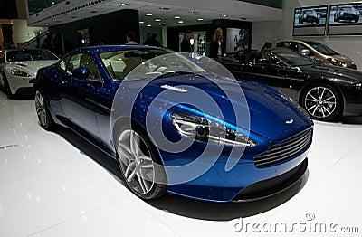 Aston Martin DB9 2014 Editorial Image