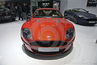 Aston Martin DBS Coupe Editorial Stock Photo