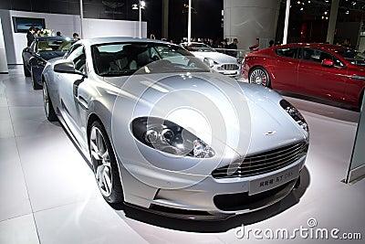 Aston Martin DBS sport car Editorial Image