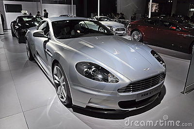 Aston Martin DBS sport car Editorial Stock Photo