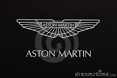 Aston martin logo Editorial Image