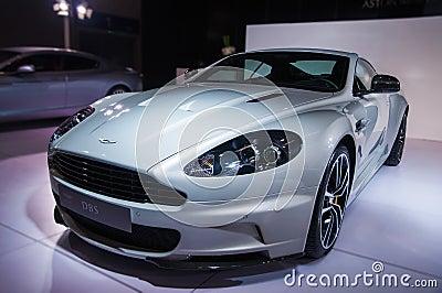 Aston Martin Roadster Editorial Image