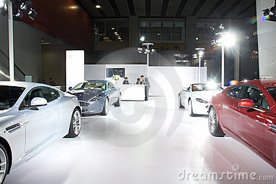 Aston Martin sport car Editorial Stock Photo
