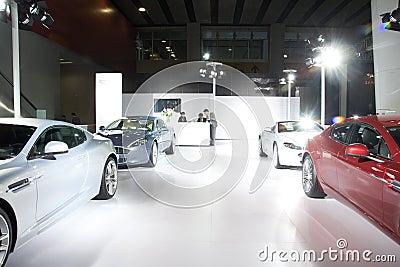 Aston Martin sport car Editorial Stock Photo