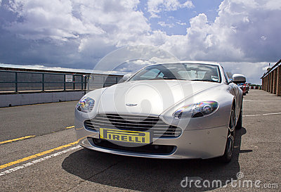 Aston Martin V8 Vantage Editorial Photography