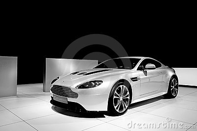 Aston Martin V12 Vantage Editorial Photo