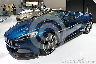 Aston Martin Vanquish Volante Cabrio Editorial Stock Photo