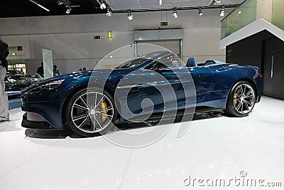 Aston Martin Vanquish Volante Cabrio Editorial Stock Image