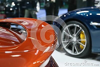 Aston Martin Vanquish Volante Cabrio Editorial Image
