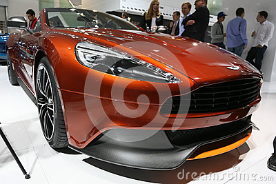Aston Martin Vanquish Volante Cabrio Editorial Photo