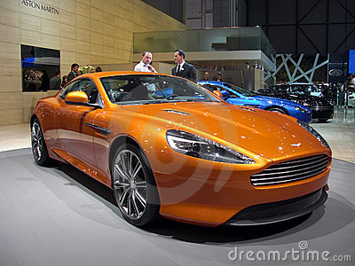 Aston Martin Virage Editorial Image