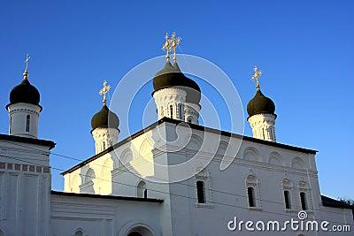 Astrakhan Kremlin in Russia