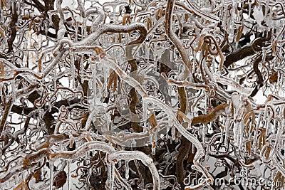 Astrazione ghiacciata