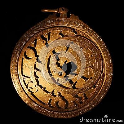 Free Astrolabe Royalty Free Stock Photos - 24157038