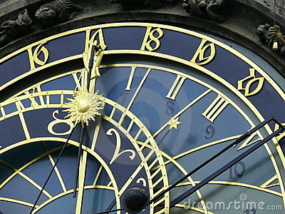 Astrological clock. Prague.