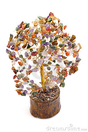 Astrological gem tree