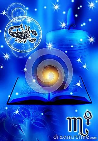 Astrological sign Scorpion