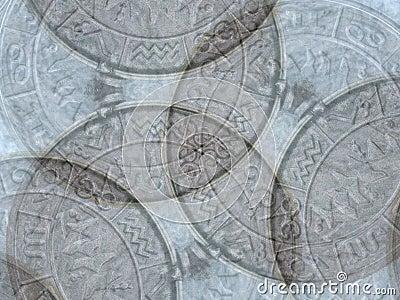 Astrology Symbols Background