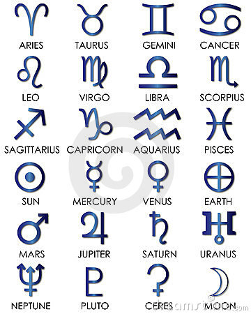 Astrology and zodiac sings