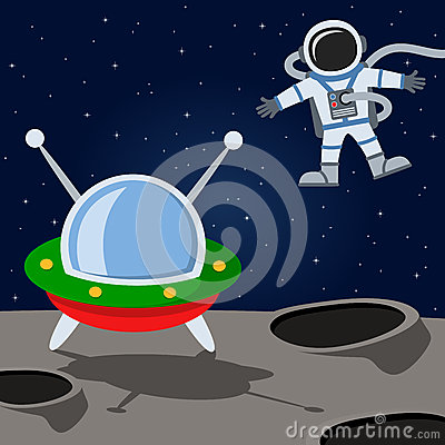 astronaut floating in space cartoon - photo #15