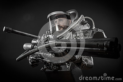 astronaut with weapon - photo #24