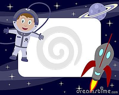 Astronaut Kid Photo Frame [1]