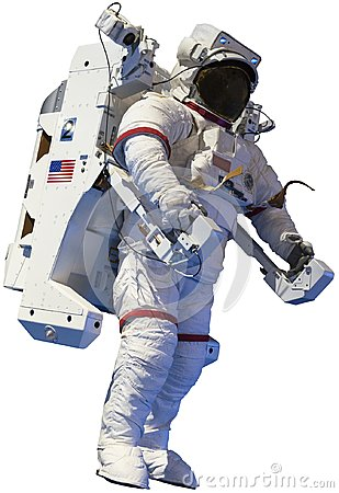 Free Astronaut, Outer Space Walk, Isolated Royalty Free Stock Image - 113944716