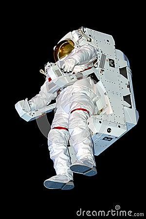 astronaut black background - photo #8