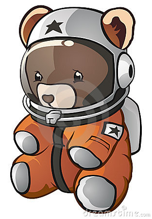 Free Astronaut Teddy Bear Royalty Free Stock Photography - 17220067