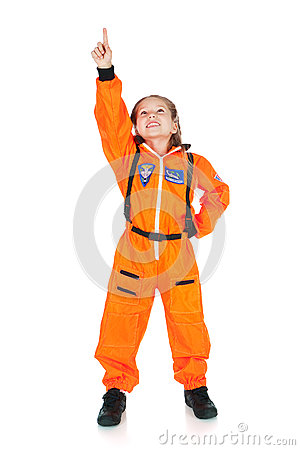 Free Astronaut: To Infinity And Beyond Stock Photography - 58442082