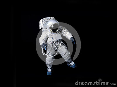 astronaut black background - photo #27