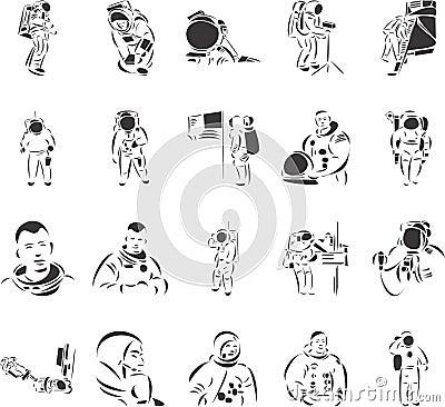 Free Astronauts Royalty Free Stock Image - 6912496