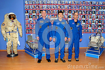 Astronauts at the Museum Editorial Photo