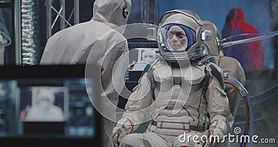 Astronauttestning, distansanvändningskamera